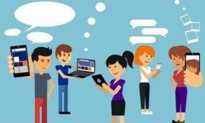 redes sociales contenido
