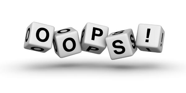 Evita estos errores en tu blog #infografía