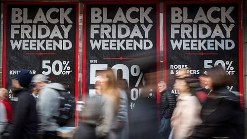 Aumenta las compras de Black Friday desde el móvil y RRSS