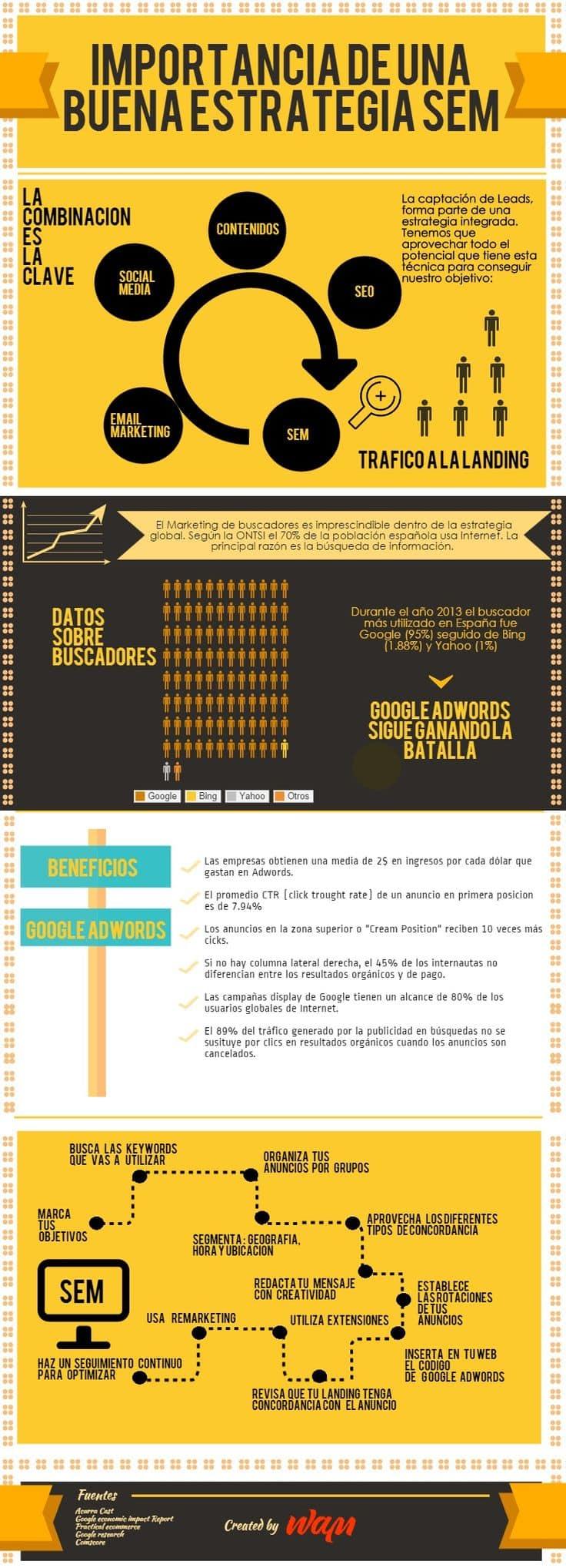 Infografia SEM