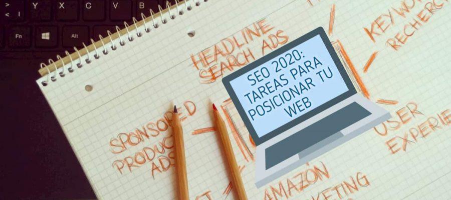 SEO 2020: Tareas para posicionar tu web