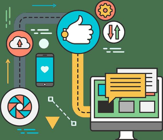 Colaboración en la creación de sitios web